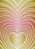 Abstract vertical background with heart shape in beautiful pastel gradient,. Vector EPS 10 Vector Illustration
