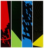 Abstract  vertical banner Stock Image