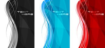 Abstract vertical banners Stock Photo