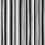 Abstract vertical black and white painted stripes. Eps-8 Stock Image