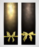 Abstract vertical celebration banners Royalty Free Stock Photo