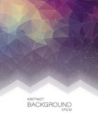 Abstract Vertical 2D geometric background. For web design Royalty Free Illustration