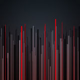 Abstract vertical infographics gray, black and red Stock Images