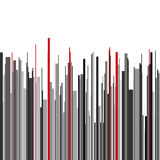 Abstract vertical infographics gray, black and red Royalty Free Stock Photography