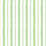 Abstract vertical pastel green cute striped structure. Vector seamless background. Stock Images