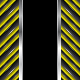 Abstract vertical seamless urban background Royalty Free Stock Photo