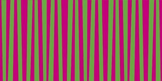 Abstract vertical striped pattern. Green and purple print. Background for wallpaper, web page, surface textures. Vector illustration, banner, poster, template Stock Images