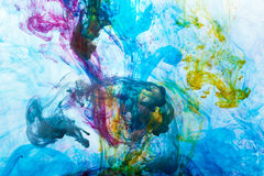 Abstract. And very colorful motion blur background Royalty Free Stock Images