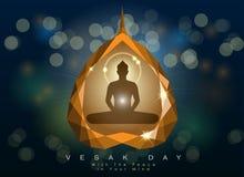 Abstract of Vesak Day Stock Image