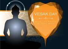 Abstract of Vesak Day Stock Photography