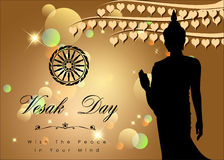 Abstract of Vesak Day Royalty Free Stock Images