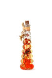 Abstract vial ornament (isolated) Royalty Free Stock Image