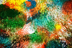Abstract vibrant acrylic art background Stock Images
