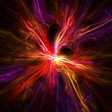 Abstract vibrant background. Digital generated this image Royalty Free Stock Photography