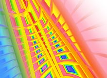 Abstract vibrant  background Stock Images