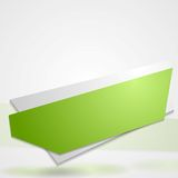 Abstract vibrant banner sticker Stock Photos