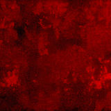 Abstract Vibrant Red Grunge Background Stock Image