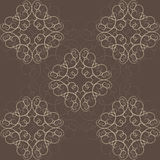 Abstract Victorian Orient Ethnic Pattern Royalty Free Stock Image