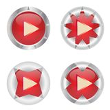 Abstract Video Buttons Royalty Free Stock Photos