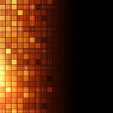 Abstract Vierkant Dots Tech Background Stock Foto's