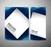 Abstract vierkant kader achtergrondbrochure bedrijfsontwerpmalplaatje of broodje omhoog Stock Foto's