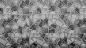 Abstract vierkant pixelmozaïek op muurtextuur en achtergrond Royalty-vrije Stock Foto