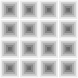 Abstract vierkanten naadloos patroon Royalty-vrije Stock Foto