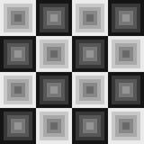 Abstract vierkanten naadloos patroon Royalty-vrije Stock Afbeeldingen