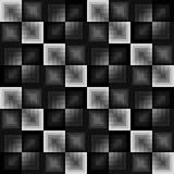 Abstract vierkanten naadloos patroon Stock Foto