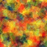 Abstract vierkantenpatroon Royalty-vrije Stock Afbeelding