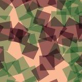 Abstract vierkantenpatroon Stock Fotografie
