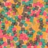 Abstract vierkantenpatroon Royalty-vrije Stock Fotografie