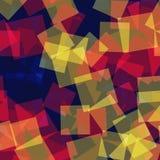 Abstract vierkantenpatroon Royalty-vrije Stock Afbeeldingen