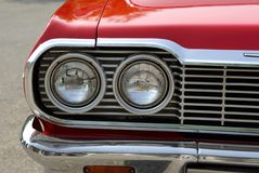 Abstract View American Vintage Car royalty free stock images