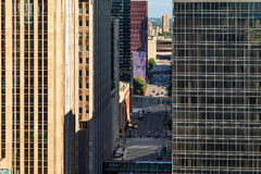 An abstract view of the city architecture of Minneapolis, USA Stock Photo