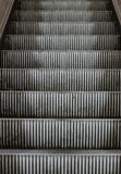 Abstract view on escalator staircase Stock Photography