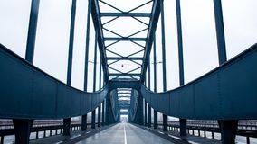 Bridge in Hamburg, Germany royalty free stock photo