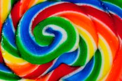 Abstract view of lollipop Stock Images