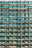 Abstract view of modern facade of building in Northampton UK.  Stock Photos