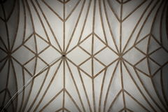 Abstract view of old church ceiling Royalty Free Stock Photos