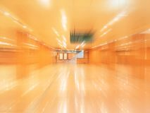 Abstract View of Place. Empty Lobby Area stock images