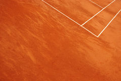 Abstract view of a tennis court Royalty Free Stock Photography