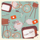 Abstract vintage background Stock Photos