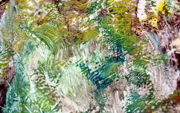 Pastel soft vintage colors, paint background, hues, watercolor paint background. Abstract vintage background in blue gray dark pink green white brown orange royalty free illustration