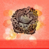 Abstract vintage background with ornament Stock Image