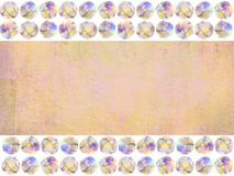 Abstract vintage background in peach-orange, sandy brown colors. Stock Image