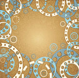 Abstract vintage background vector Royalty Free Stock Photo