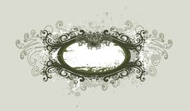 Abstract vintage  banner Stock Photo