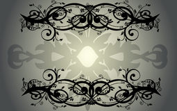 Abstract vintage banner Royalty Free Stock Images