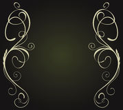 Abstract vintage banner Royalty Free Stock Image